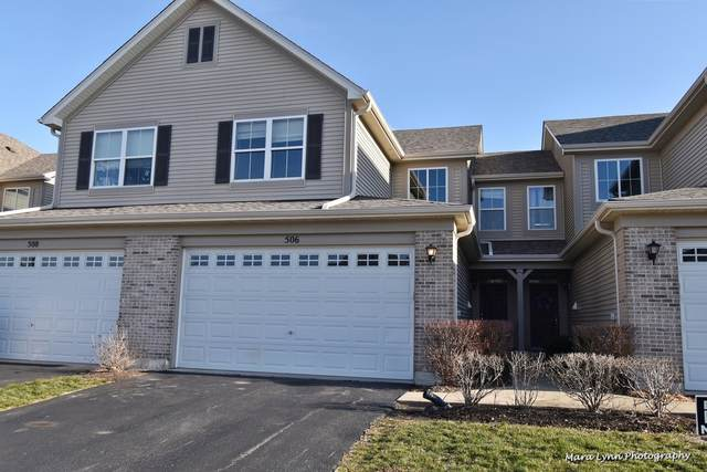 506 Dancer Lane #506, Oswego, IL 60543 (MLS #10968153) :: Janet Jurich