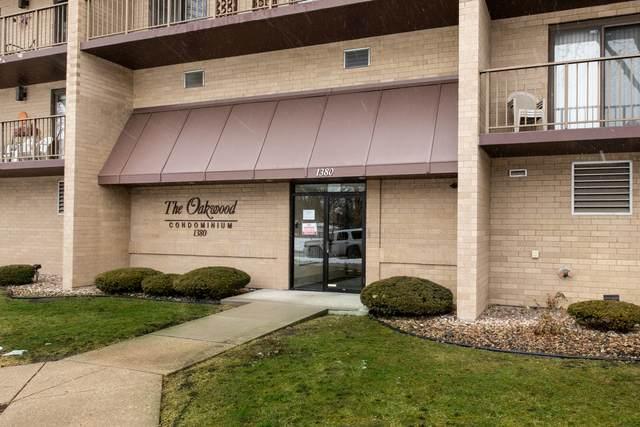 1380 Oakwood Avenue #302, Des Plaines, IL 60016 (MLS #10968182) :: Helen Oliveri Real Estate