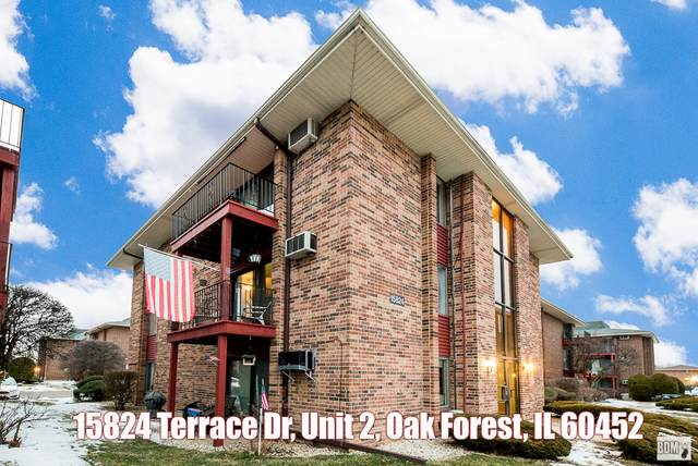 15824 Terrace Drive #2, Oak Forest, IL 60452 (MLS #10968522) :: The Wexler Group at Keller Williams Preferred Realty