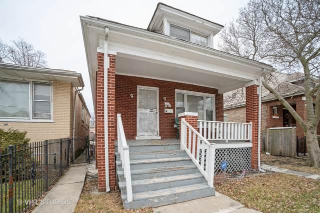 516 E 91st Place, Chicago, IL 60619 (MLS #10968746) :: Jacqui Miller Homes