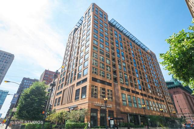 520 S State Street #808, Chicago, IL 60605 (MLS #10968747) :: Helen Oliveri Real Estate