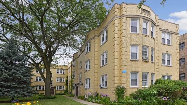 4448 W Gunnison Street 3A, Chicago, IL 60630 (MLS #10969323) :: Jacqui Miller Homes