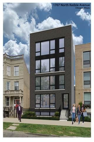 1707 N Kedzie Avenue #1, Chicago, IL 60647 (MLS #10969377) :: Janet Jurich