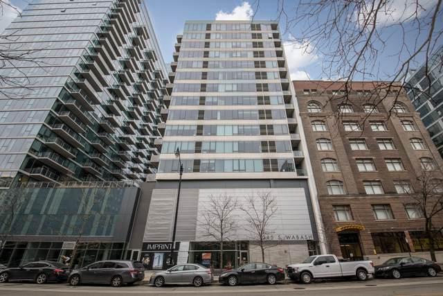 1345 S Wabash Avenue #1405, Chicago, IL 60605 (MLS #10969975) :: Touchstone Group