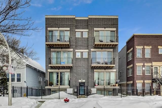 3514 W Wabansia Avenue #3, Chicago, IL 60647 (MLS #10970095) :: Touchstone Group