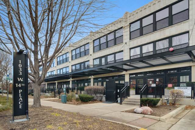 1033 W 14th Place #412, Chicago, IL 60607 (MLS #10970100) :: The Wexler Group at Keller Williams Preferred Realty