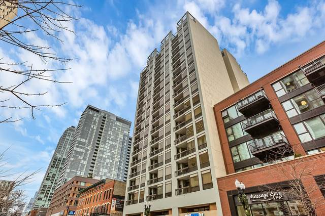 1212 N Wells Street #1101, Chicago, IL 60610 (MLS #10970689) :: The Perotti Group