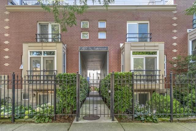 3618 N Lakewood Avenue F, Chicago, IL 60613 (MLS #10971487) :: Helen Oliveri Real Estate