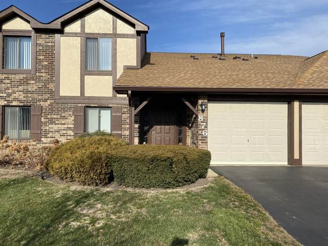 876 Cross Creek Court N2b, Roselle, IL 60172 (MLS #10971950) :: Janet Jurich