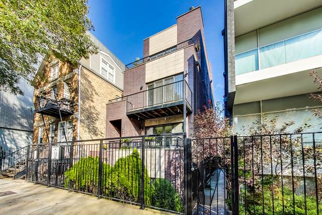 1543 N Bosworth Avenue #1, Chicago, IL 60642 (MLS #10971979) :: Jacqui Miller Homes