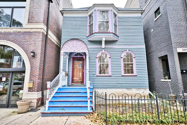 2215 W Roscoe Street, Chicago, IL 60618 (MLS #10972366) :: The Wexler Group at Keller Williams Preferred Realty