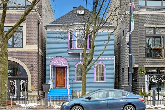 2215 W Roscoe Street, Chicago, IL 60618 (MLS #10972368) :: The Wexler Group at Keller Williams Preferred Realty