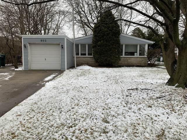 805 Leclaire Avenue, Wilmette, IL 60091 (MLS #10973019) :: Schoon Family Group