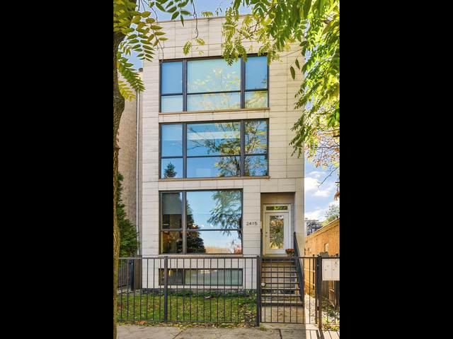 2415 W Haddon Avenue #2, Chicago, IL 60622 (MLS #10973760) :: Suburban Life Realty