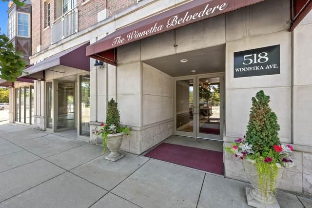 518 Winnetka Avenue #304, Winnetka, IL 60093 (MLS #10974376) :: Jacqui Miller Homes