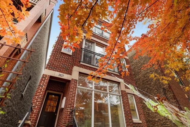 3837 N Damen Avenue #3, Chicago, IL 60618 (MLS #10974464) :: Suburban Life Realty