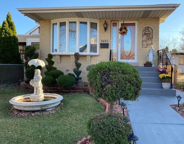 5653 S Kildare Avenue, Chicago, IL 60629 (MLS #10974593) :: Helen Oliveri Real Estate