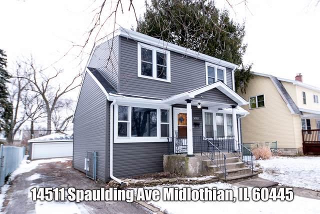 14511 Spaulding Avenue, Midlothian, IL 60445 (MLS #10974764) :: The Spaniak Team