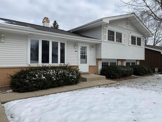 636 Sherwood Lane, Schaumburg, IL 60193 (MLS #10974884) :: Helen Oliveri Real Estate