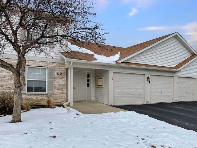 1160 N Red Oak Circle #2, Round Lake Beach, IL 60073 (MLS #10975003) :: Helen Oliveri Real Estate