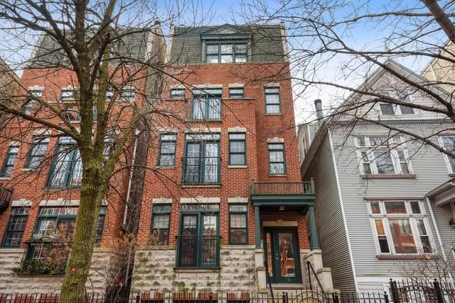 853 W Roscoe Street #1, Chicago, IL 60657 (MLS #10975256) :: Helen Oliveri Real Estate