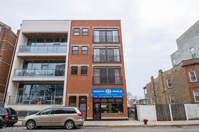 2029 W Belmont Avenue #3, Chicago, IL 60618 (MLS #10976072) :: The Dena Furlow Team - Keller Williams Realty