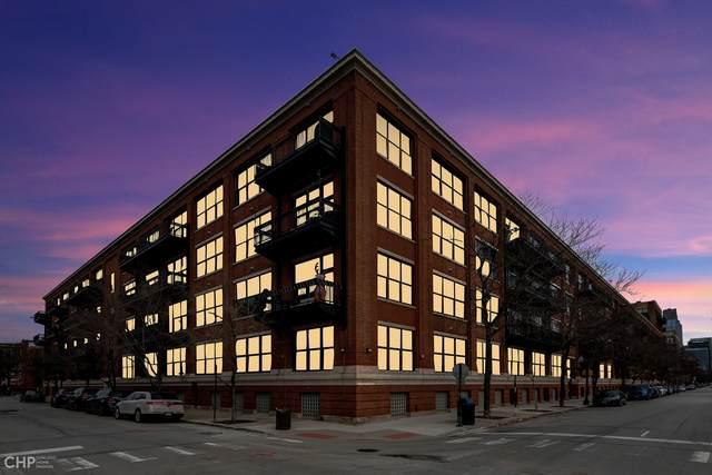 1040 W Adams Street #458, Chicago, IL 60607 (MLS #10976635) :: Helen Oliveri Real Estate