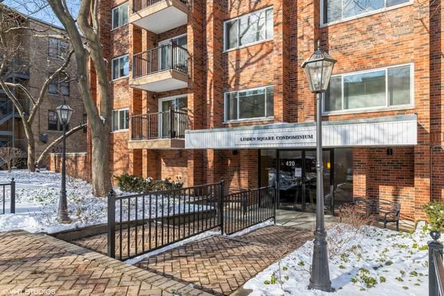 420 Linden Avenue #402, Wilmette, IL 60091 (MLS #10977424) :: Helen Oliveri Real Estate