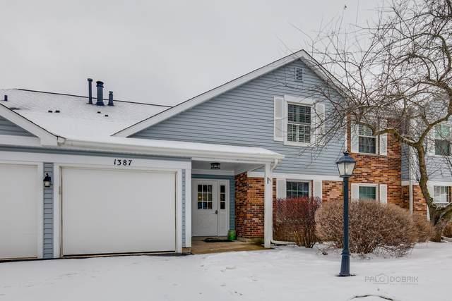 1387 Stratford Drive #1387, Gurnee, IL 60031 (MLS #10978905) :: The Dena Furlow Team - Keller Williams Realty