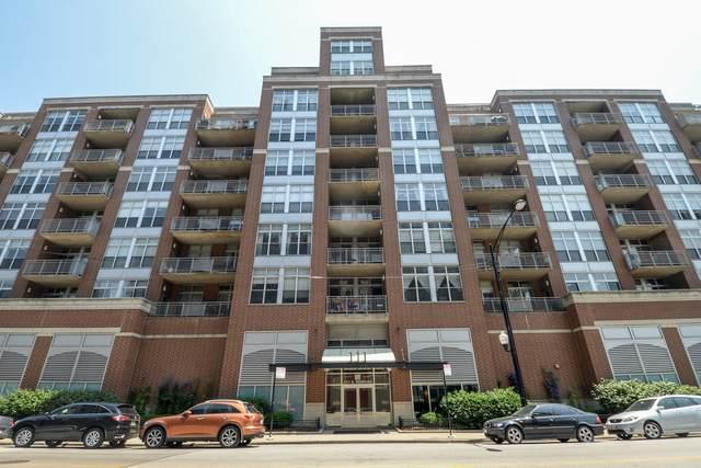111 S Morgan Street #607, Chicago, IL 60607 (MLS #10979060) :: Ryan Dallas Real Estate