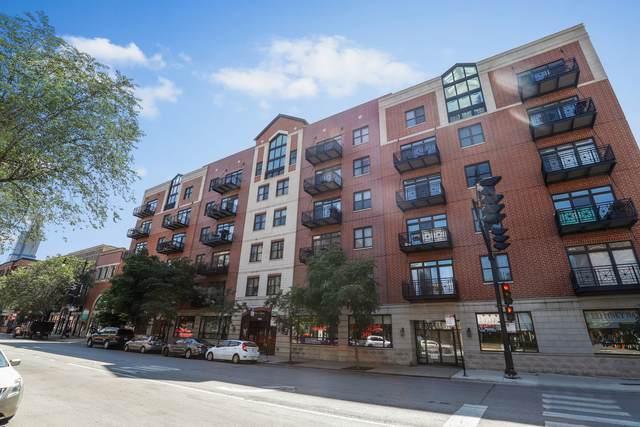 1155 W Madison Street #606, Chicago, IL 60607 (MLS #10979294) :: Ryan Dallas Real Estate