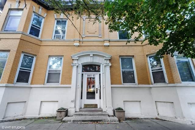 1443 W Waveland Avenue #1, Chicago, IL 60613 (MLS #10979478) :: Ryan Dallas Real Estate