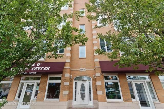 3015 N Ashland Avenue 3S, Chicago, IL 60657 (MLS #10979670) :: Ryan Dallas Real Estate