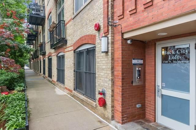 1740 N Maplewood Avenue #110, Chicago, IL 60647 (MLS #10980711) :: The Spaniak Team