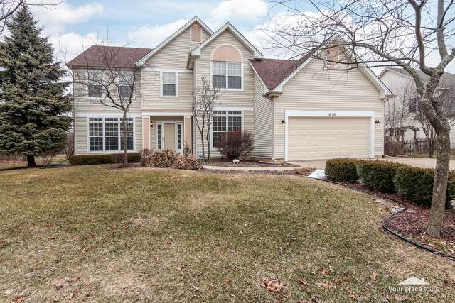 418 Stonewater Lane, Oswego, IL 60543 (MLS #10982199) :: The Dena Furlow Team - Keller Williams Realty