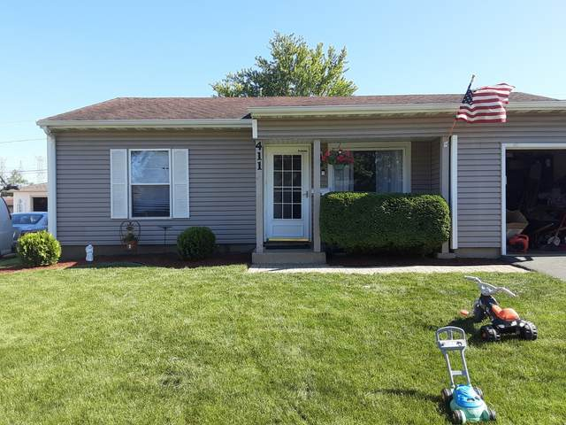 411 Healy Avenue, Romeoville, IL 60446 (MLS #10989379) :: The Dena Furlow Team - Keller Williams Realty