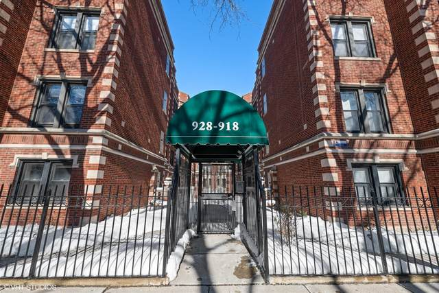 928 W Ainslie Street 3W, Chicago, IL 60640 (MLS #10989561) :: The Perotti Group