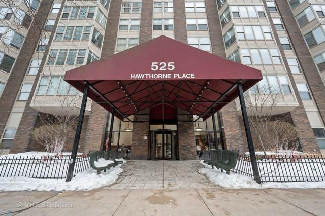 525 W Hawthorne Place #1107, Chicago, IL 60657 (MLS #10989632) :: RE/MAX IMPACT