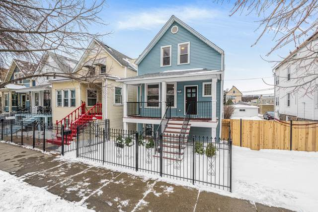 3142 N Christiana Avenue, Chicago, IL 60618 (MLS #10990616) :: The Perotti Group