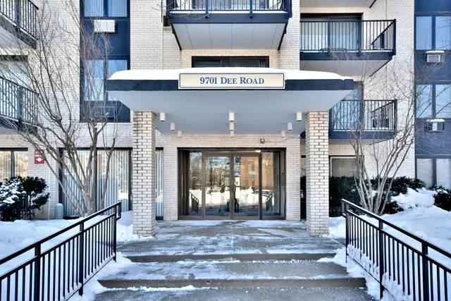 9701 N Dee Road 1A, Niles, IL 60714 (MLS #10991281) :: Helen Oliveri Real Estate