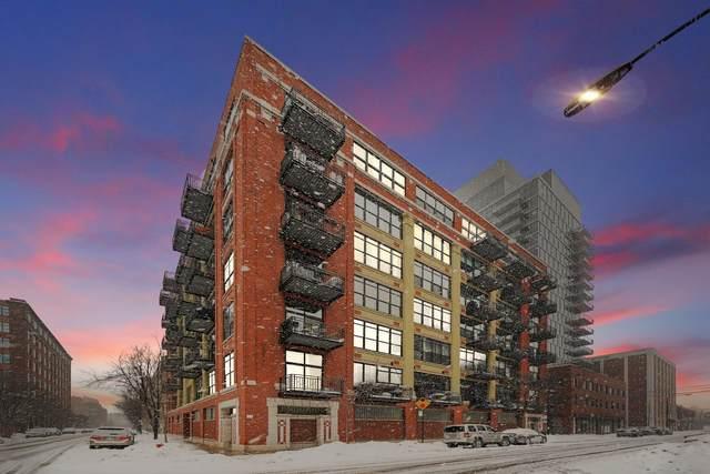 843 W Adams Street #612, Chicago, IL 60607 (MLS #10991403) :: Littlefield Group