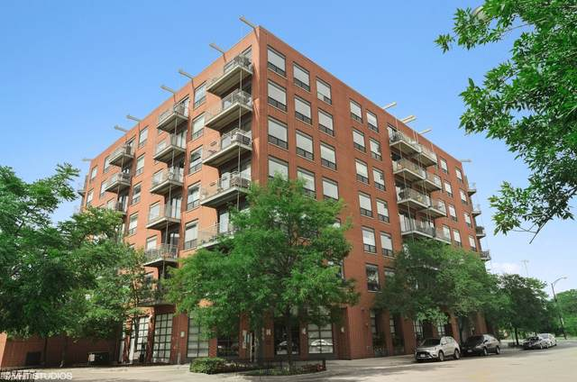 859 W Erie Street #501, Chicago, IL 60642 (MLS #10991530) :: The Perotti Group