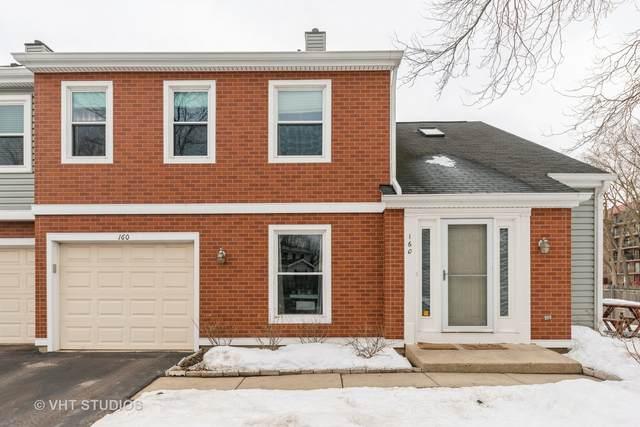 160 S Stonington Drive #160, Palatine, IL 60074 (MLS #10993408) :: Ani Real Estate