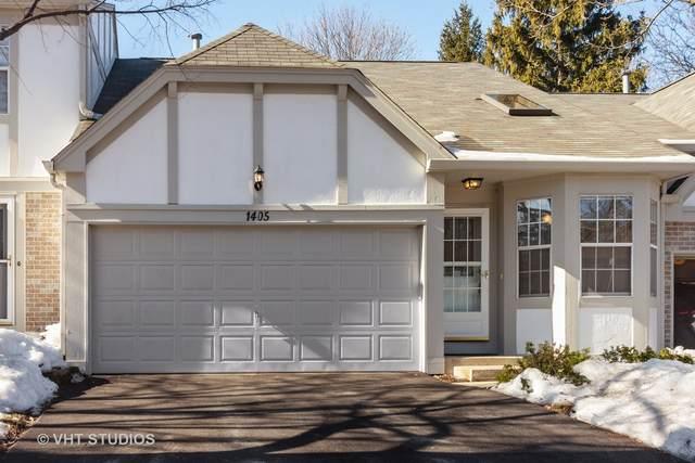 1405 W Sapphire Drive, Hoffman Estates, IL 60192 (MLS #10994214) :: Ryan Dallas Real Estate