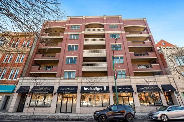437 W North Avenue #301, Chicago, IL 60610 (MLS #10999357) :: The Perotti Group