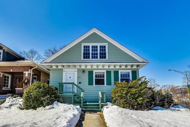 647 N Harvey Avenue, Oak Park, IL 60302 (MLS #10999500) :: Jacqui Miller Homes