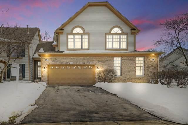 594 Harlowe Lane #594, Naperville, IL 60565 (MLS #11000402) :: RE/MAX IMPACT