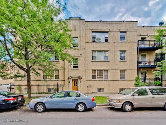 2821 W Rosemont Avenue #3, Chicago, IL 60659 (MLS #11000608) :: RE/MAX Next