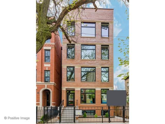 2016 W Webster Avenue #3, Chicago, IL 60642 (MLS #11001310) :: John Lyons Real Estate