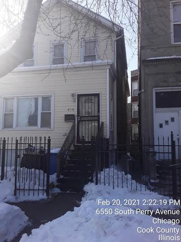 6550 S Perry Avenue, Chicago, IL 60621 (MLS #11004070) :: The Dena Furlow Team - Keller Williams Realty